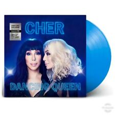 Cher Dancing Queen ABBA Translucent Blue Vinyl Record Disco Exclusive Limited