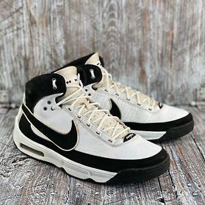 Nike Family Elite 2007 Men Basketball Shoes 316906-101 Black White Size 10.5