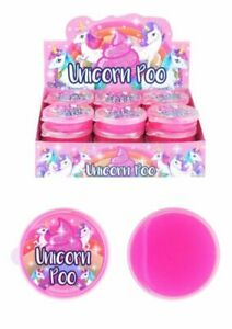 MAGIC UNICORN POO GLITTER PUTTY TOY SLIME PARTY BAG CHRISTMAS STOCKING FILLERS