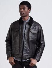 Levi's Leather Sherpa Trucker Jacket- Los Angeles Lakers-Size XXL-MSRP $400