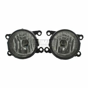 To Fit Suzuki SX4 Saloon 6/2008-2015 Front Fog Lights Lamps 1 Pair O/S & N/S