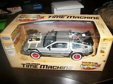 Delorean Time Machine Die Cast Car From The Movie Back To The Future 3.