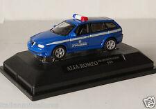 Alfa Romeo 156 GTA Sportwagon Police Polizia Model 1/72 New in Box