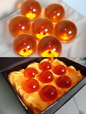 Dragonball Ball Z 7 Stars Dragon Spheres Etoiles Balles Crystal Set Collection