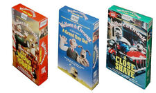 WALLACE & GROMIT VHS NTSC, set of 3 classic animations