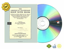 The American machinist shop note book BY E. A. SUVERKROP Book On CD