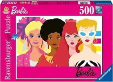 Ravensburger Barbie: Barbie's 60th Anniversary 500 Piece Jigsaw Puzzle for Kids