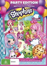 Shopkins: Chef Club: Party Edition NEW R4 DVD