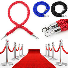 1.5m Twisted Barrier Rope Queue Twisted VIP Red for Posts Stands Exhibition