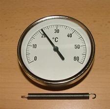 Anlegethermometer Ø 63mm / 0°C bis 60°C (378#