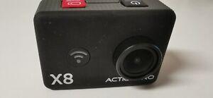 ACTIONPRO X8 Full HD Action Kamera mit Bluetooth Funktion und Gehäuse