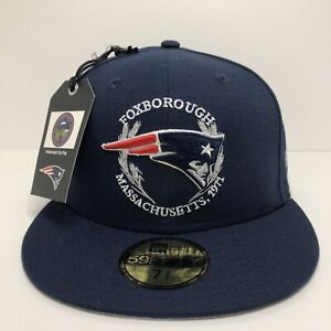 New England Patriots New Era 2019 NFL Draft On Stage 59FIFTY Fitted 7 3/4 New
