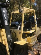 Hyster H60Xm, 6,000lb Pneumatic Forklift, Lp Gas, 3 Stage Mast, Engine Starts