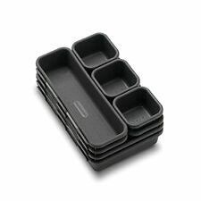 New listing madesmart Value 8-Piece Interlocking Bin Pack - Granite | 8-Piece Bin Granite