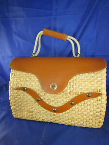 TOP Handtasche um 1940 Paris vintage Mode Design Leder Damentasche Wehrmacht