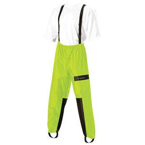 Nelson Rigg Aston Motorcycle Rain Pants Black or Hi-Viz Yellow Adult Sizes