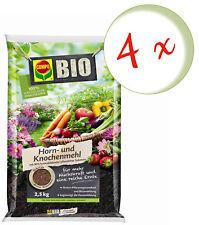 Savings Set: 4 X Compo Organic Horn And Bonemeal, 2,5 KG