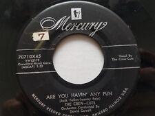 "THE CREW CUTS - Are You Havin' Any Fun / Slam! Bam! 1955 MERCURY 7"" Pop Vocal"