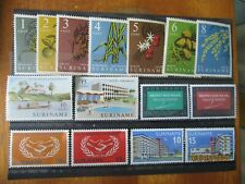 Suriname ~ 5 x MNH Sets ~ Lot 4