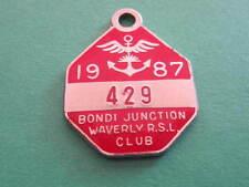 Bondi Junction Waverley RSL Club NSW Badge