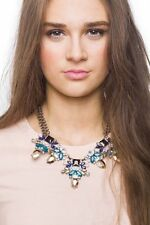 Statement Necklace Pretty In Pastel Floral Necklace Pendant Fashion New Jewelry