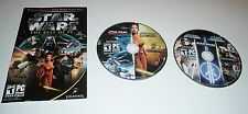 Star Wars: The Best of PC  cd-rom Battlefront,Knights,Republic Commando 5 games