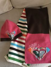 Roxy Knit Beanie and Matching Scarf Set -NWOT