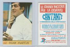 1968 Panini, Cantanti Music Artists Card, #127 Dean Martin, ZQL