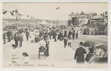 Isle of Wight postcard - Cowes - The Parade - LL No. 24