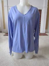 Athleta Peace Top Shirt V-Neck Long Dolman Sleeves Purple Heather Style #427846