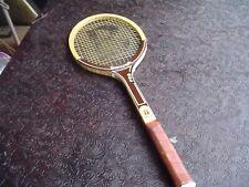 Vintage Bancroft Wimbledon Pro Tennis Racquet w 4 1/2 Leather Grip