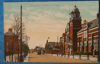 Postcard c.1905 ABBEY ROAD BARROW IN FURNESS CUMBERLAND