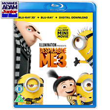 DESPICABLE ME 3 Blu-ray 3D + 2D + BONUS (REGION FREE)
