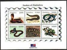 Zimbabwe Stamp - Snakes Stamp - NH