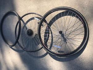 Vitesse Wheel Set, Lepper Tires 28x1 5/8x1 1/4