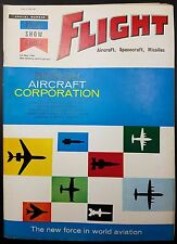 Vintage Flight Magazine, Aircraft, Spacecraft, Missiles- 25 May 1961