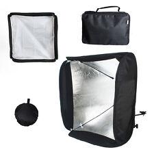 "24"" Photo Softbox Diffuser Portable Studio Soft Box for Flash Hotshoe Speedlight"