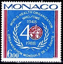 SELLOS TEMA MEDICINA. MONACO 1988 1636 OMS 1v.