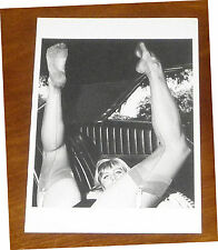 Elmer bateador postal erotismo fetiche pies feet medias Straps medias Legs
