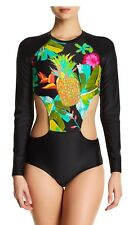 NWT Body Glove Akela Brizo Paddle One Piece Suit, Floral Black, Size L