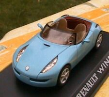 RENAULT WIND CONCEPT CAR DECAPOTABLE BLEU 1/43 ROADSTER NOREV ALTAYA BLAU BLUE