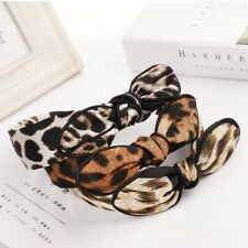 Fashion Women's Hairband Hair Band Wide Bow Knot Headband Hair Hoop Accessories