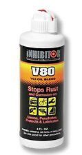 V80 VCI Gun Oil Blend rust protection Easy close bottle 4oz/118ml shotgun rifle
