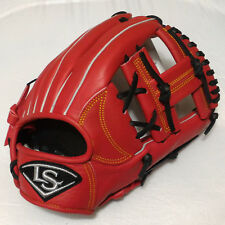 "Louisville Slugger EZ 12"" Red Infield I-Web Right-Handed Thrower Baseball Glove"