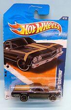 2636 HOT WHEELS / CARTE US / MUSCLE MANIA 2010 / 1968 EL CAMINO 1/64