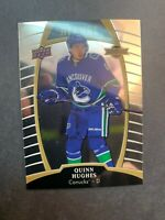 2019-20 Upper Deck Allure Rookie #66 Quinn Hughes Vancouver Canucks RC