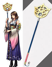 FF X-2 Final Fantasy Yuna Cosplay Kostüm Waffe weapon summoner Staff Stab stave