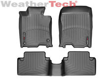 WeatherTech Floor Mats FloorLiner for Acura TSX - 2009-2014 - 1st/2nd Row- Black