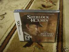 Sherlock Holmes: The Mystery of the Mummy  (Nintendo...