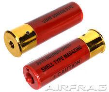 Firepower 2-Pack Airsoft M3 Multi-Shot Shotgun Magazine Shells MS M56  UTG DE